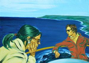 Buena Vida. | Óleo sobre lienzo, 45 x 61cm
