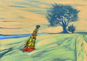 Decisión. | Óleo sobre lienzo, 45 x 61 cm