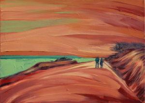 Destino. | Óleo sobre lienzo, 45 x 61 cm