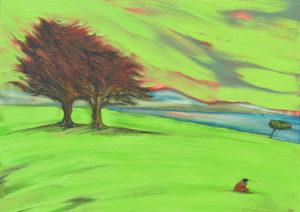 Fe. | Óleo sobre lienzo, 45 x 61 cm
