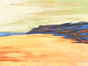 Península. | Óleo sobre lienzo, 45 x 61 cm)